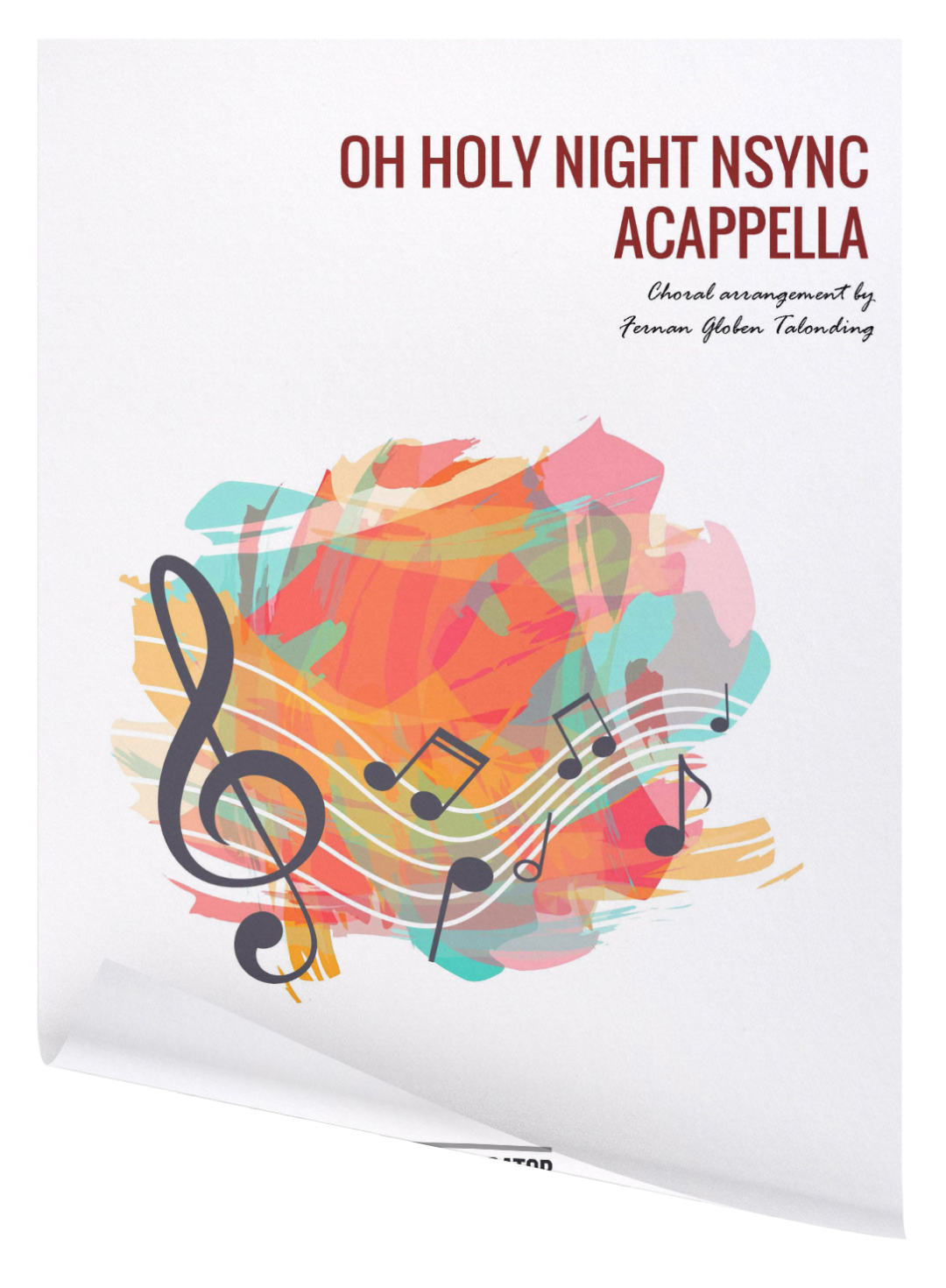 oh holy night acappella