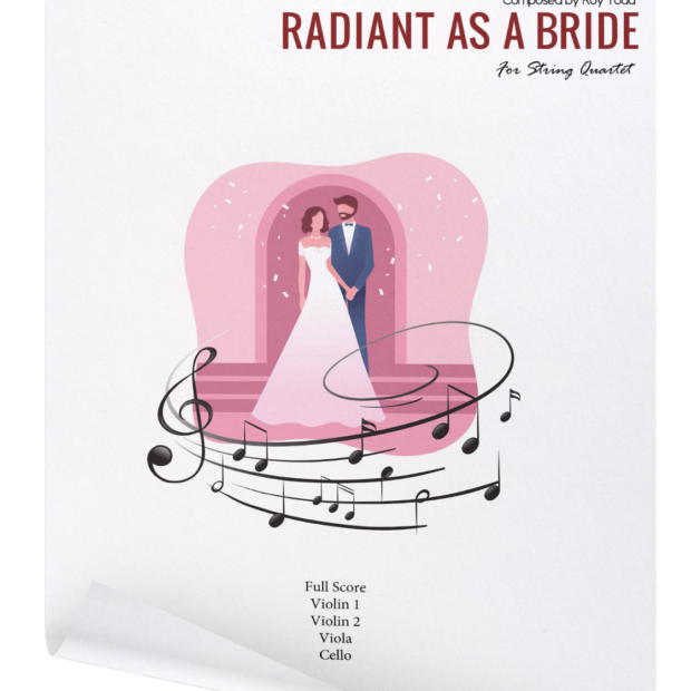 Radiant As A bride curled